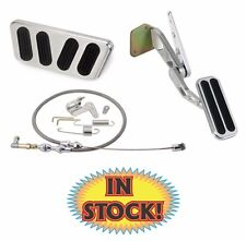 Lokar 1969-70 Mustang Pedal Kit w/ Throttle Cable Set Automatic Trans- BAG-6117
