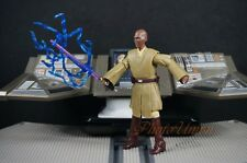 "Hasbro Star Wars 3.75"" Action Figure 1:18 Jedi Master Mace Windu Lightning K619"