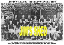 ASTON VILLA F.C. TEAM PRINTS X 38 (1895-1984)