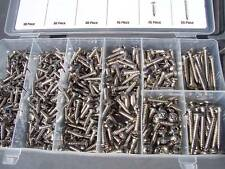 Interior/ exterior assorted   stainless steel screw kit new in storage box