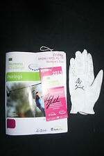 PHIL MICKELSON Signed PGA TOUR USED OFFICAL CALLAWAY GLOVE DC/COA SUPER RARE WOW
