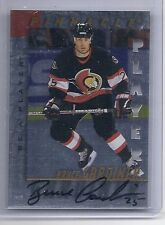 1997-98 BE A PLAYER BRUCE GARDINER DIE CUT AUTOGRAPH BAP AUTO 51 SENATORS