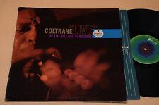COLTRANE LP LIVE VILLAGE VANGUARD ORIG USA IMPULSE DEEP GROOVE TOP EX !!