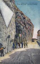 BOLLO DA 20 CENT. CON TIMBRO GRIMALDI DI VENTIMIGLIA PONTE SAN LUIGI 1925 3-120