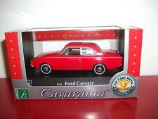 ford corsair consul rouge cararama 1/43