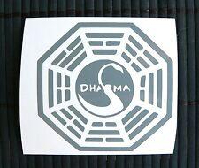 adesivo DHARMA LOST sticker decal vynil vetro auto moto scooter film the lost