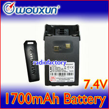 WOUXUN 1.7A Battery for KG-UVD1P KG-669 KG-699E KG-UV6D
