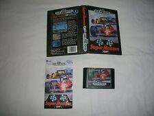 SUPER MONACO GP - SEGA MEGA DRIVE GENESIS 16 BIT - PAL