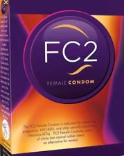 FC2 Female Condoms, Pack Of 10, Exp-2022, Discrete Package, New