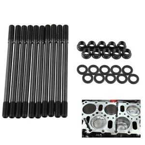 For Honda Civic 1.6L D16Z6 12-Point Nuts 208-4301 Cylinder Head Stud Kit