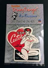 PIN UP BIKINI GIRL MODEL CAR AIR FRESHENER * VANILLA * rat rod hot rockabilly