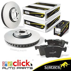 FRONT Disc Rotors and Brake Pad SET for Skoda Octavia III COMBI 2.0 TSI RS 340mm