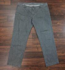 D&G Dolce & Gabbana Mens Jeans Straight Leg Gray Denim 42 x 32