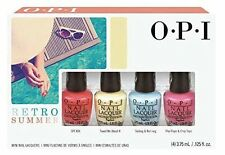 OPI Nail Polish Mini KIt - Retro Summer 2016 Collection - 4 x 3.75ml