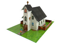 1/48 O Scale Church Diorama Building Kit Fits Lionel, Bachmann, Williams