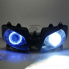 Blue Angel Eyes Projector HID Assembly Headlight For Yamaha YZF R1 2000-2001