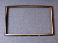Vintage Golden Rim Black Wooden Picture Frame 8127A