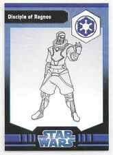 2009 Star Wars Miniatures Disciple Of Ragnos Stat Card Only Near Mint