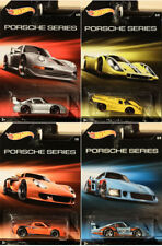 Porsche Series Mix Set (4 Modellautos) 1:64 Hot Wheels 993 GT2 Carrera 917K 935