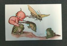 Kewpies Postcard - Drays 1976 - Leapfrog Illustration - Vintage