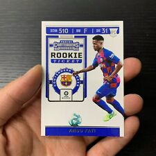 19-20 PANINI CHRONICLES SOCCER CONTENDERS ROOKIE TICKET ANSUU FATI RC CARDS HOT