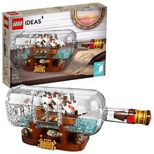 NEW Sealed! LEGO Ideas 2018 Ship in a Bottle (21313)