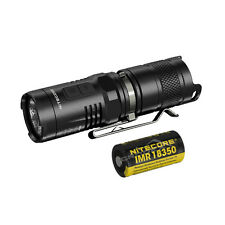 NiteCore MT10C Cree XM-L2  LED+Red LED 920lms Flashlight Torch+ IMR18350 Battery