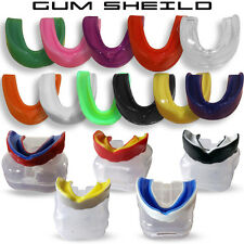 Boxing Gum Shield MMA Martial Arts Mouth Guard Teeth Protection Junior - Senior