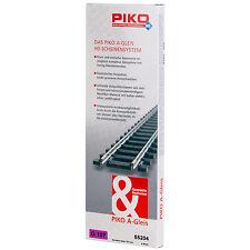 PIKO 55204 H0 Gerades Gleis 107 mm (6 Stück) ++ NEU & OVP ++