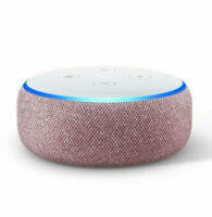 Amazon Echo Dot 3rd Generation Smart Speaker w/ Alexa Plum NEW