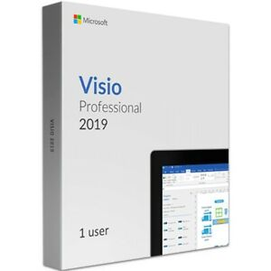 Genuine Visio 2019 Professional - 1 PC