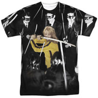 Authentic Kill Bill Movie Crazy 88 Uma Thurman Sublimation Allover Front T-shirt