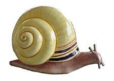 "Sergio Bustamante OOAK ""Snail"" Papier Mache Sculpture Signed. COA"