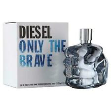 ONLY THE BRAVE BY DIESEL 4.2 O.Z EDT SPRAY *MEN'S PERFUME* NEW SEALED COLOGNE