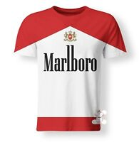 New Red Marlboro Cigarette Pack Smoke Funny T-Shirt Men Women 3D Print- S-7XL