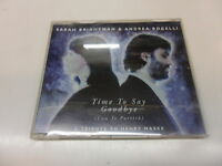 Cd   Sarah Brightman &  Andrea Bocelli  ‎– Time To Say Goodbye (Con Te Partirò)