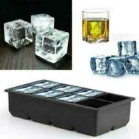UK Giant Jumbo Large Size Silicone Ice Cube Mould Square Mold Tray DIY Maker