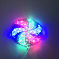 Car colorful LED Light Decorative Atmosphere Flash Strobe Lamp Windmill Lights