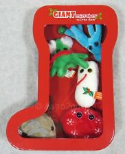 GIANT MICROBES-CHRISTMAS STOCKING ORNAMENT BOX-Salmonella Blood Penicillin NEW!