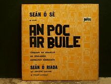 "SEAN O SE   An Poc Ar Buile   7"" E.P.    Irish Folk   RARE    Lovely copy!"