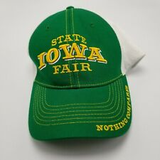 Iowa State Fair Hat Cap Green Adult Used Snapback Collectible G1