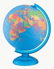 "Adventurer Child Political Desk Globe Geography 12"" Diameter English Ages 3+"