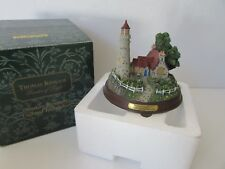 Thomas Kinkade Seaside Memories Lighted Lighthouse The Light Of Peace Building