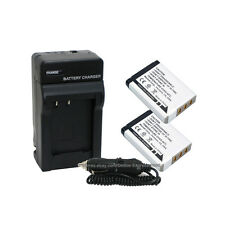 2 NP-95 NP95 Battery + Charger Combo Kit for Fuji Finepix X100 F30 Zoom Real 3D