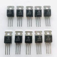 (PKG of 10) TIP47 NPN Power Transistor, 1A, 350V, Texas Instruments, TO-220