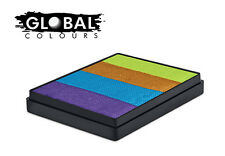 Global Rainbow Cakes 50g - FRENCH QUARTER professional face & body paint