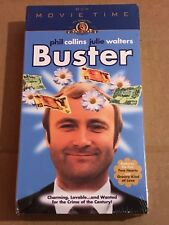 NEW SEALED Buster VHS 2001 Phil Collins MGM Movie Time