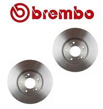 For Honda S2000 Pair Set of 2 Front Brake Disc Rotors Vented Coat 300x25 Brembo