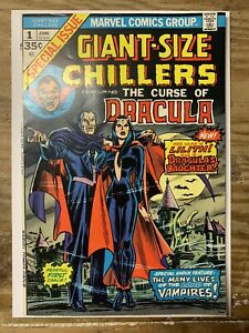 Giant-Size Chillers #1/Bronze Age Marvel Comic Book/Only Issue/1st Lilith/VF