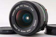 [Near Mint] Canon New FD 24mm f2.8 Wide Angle MF Manual Lens From Japan #1294765